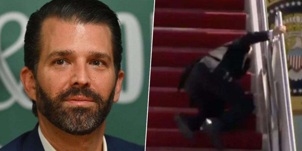 Donald Trump Jr Slammed for Brutal Meme Attacking Joe Biden