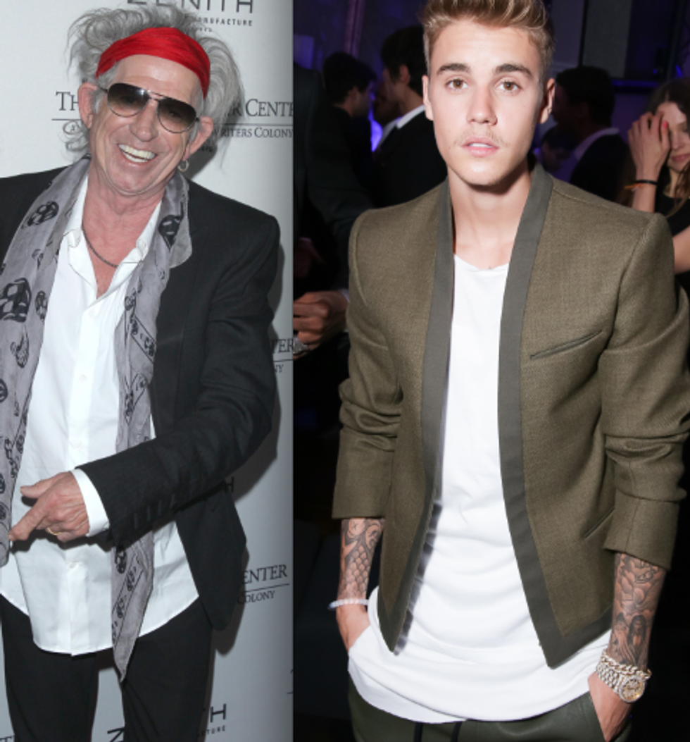 A Brief History of Justin Bieber's Would-Be Celebrity Mentors