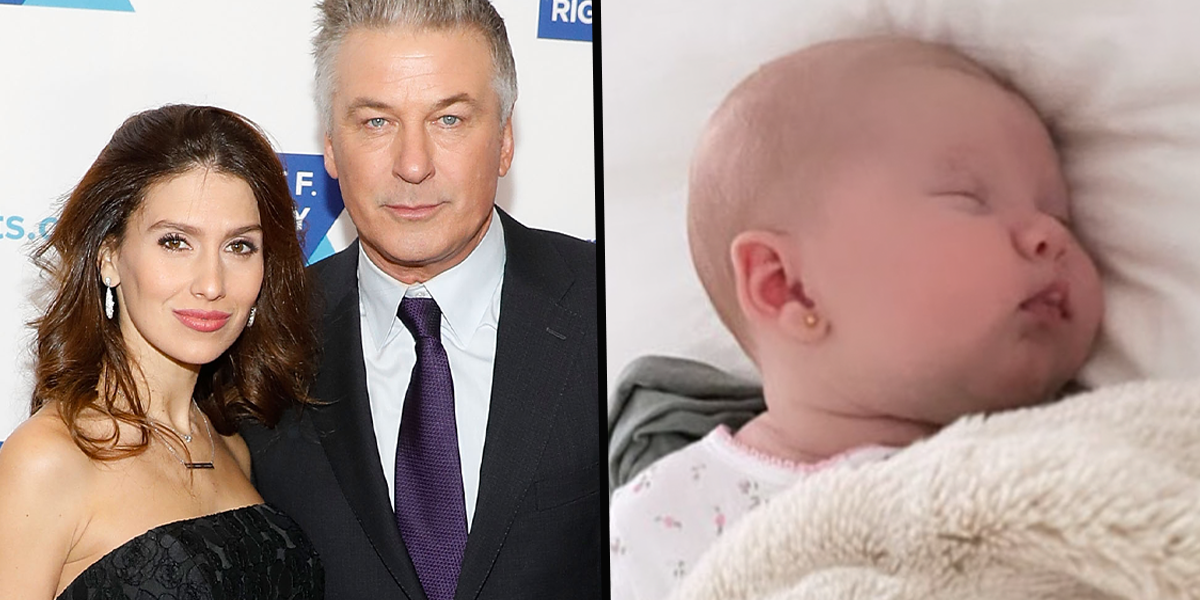 Hilaria Baldwin Receives Hate From Parents After Piercing Newborn Baby's Ears
