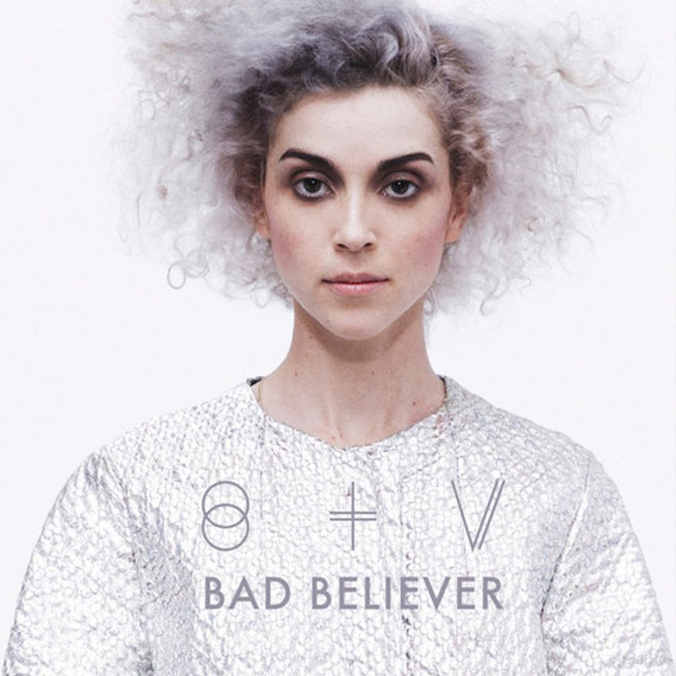 "Listen to St. Vincent's Electric New Song, ""Bad Believer"""