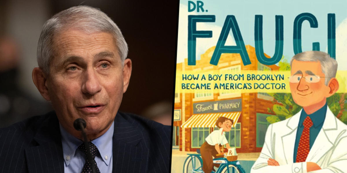 An Upcoming Children's Book Stars Dr. Anthony Fauci as the Main Character