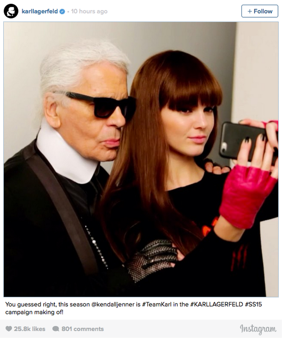 Karl Lagerfeld: You Have A Lot of Explaining to Do