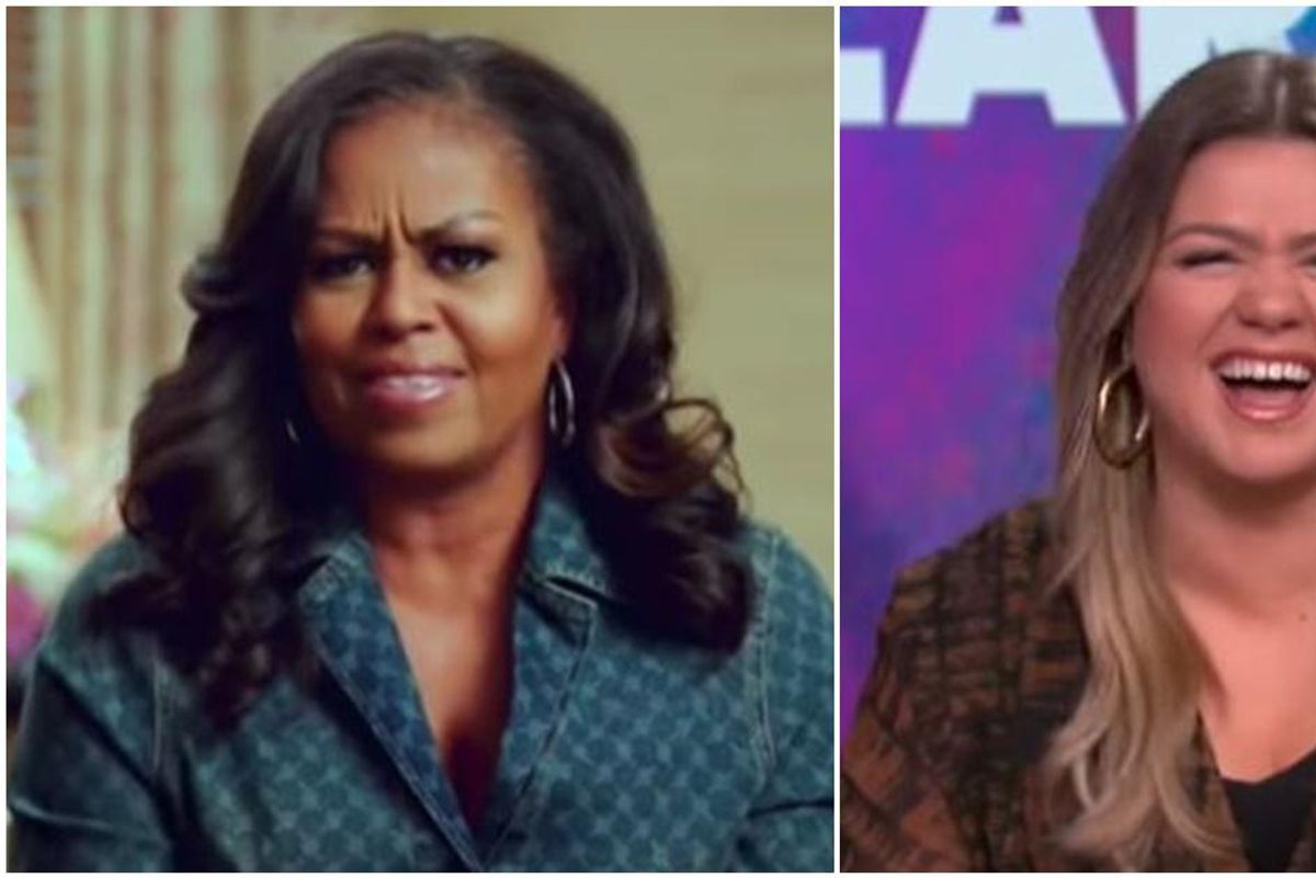 Michelle Obama tells Kelly Clarkson why she loves living the 'empty nester' life