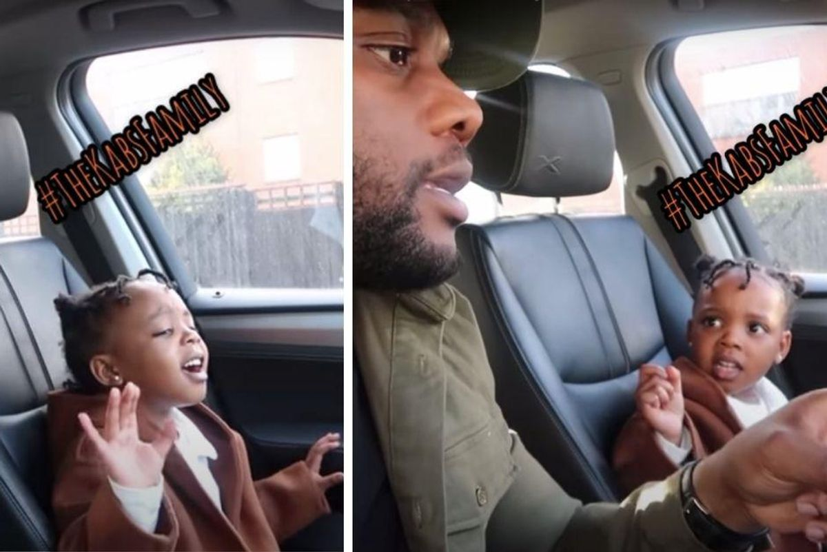 Don't come between this 4-yr-old and her favorite songs—and definitely don't sing them wrong