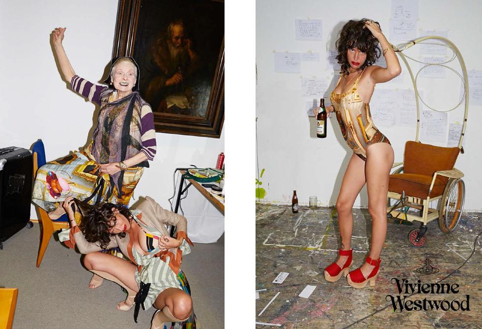 Paz de la Huerta's New Photos for Vivienne Westwood Are... Wow.