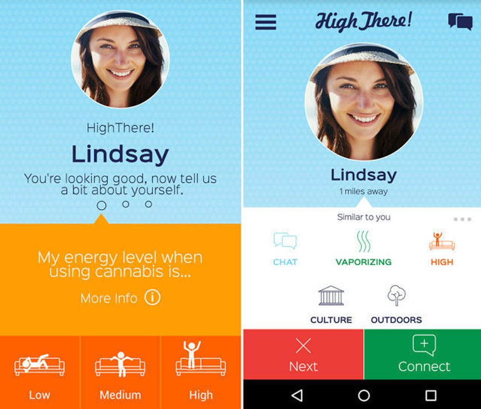 A Tinder-like App for Potheads is Finally Here