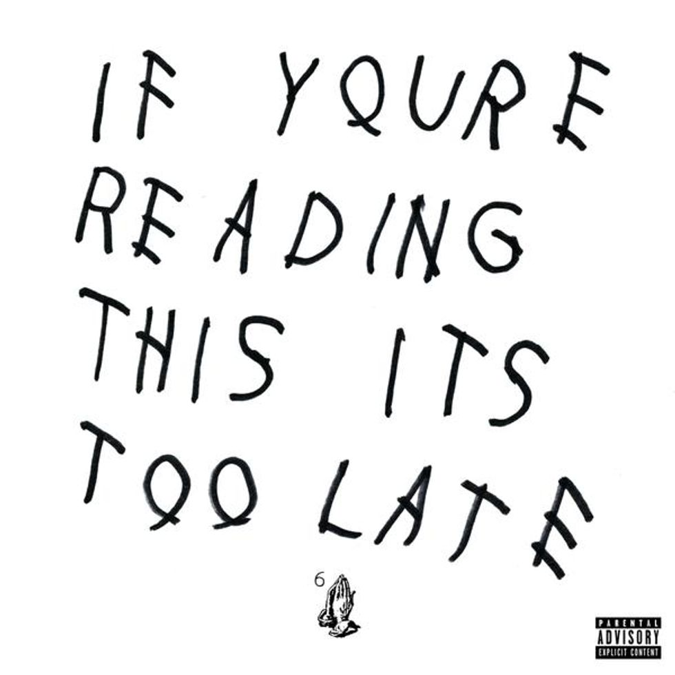 "Drake Releases Surprise New Album, ""If You're Reading This It's Too Late"""