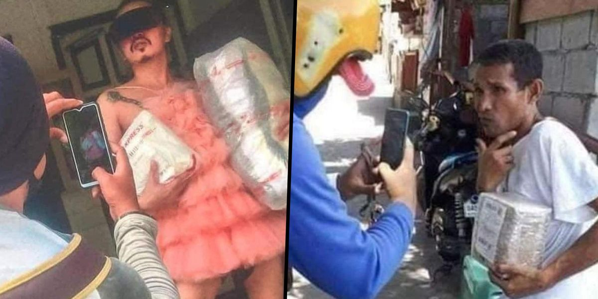 People in the Philippines Turn Proof of Delivery Photos Into Photoshoots