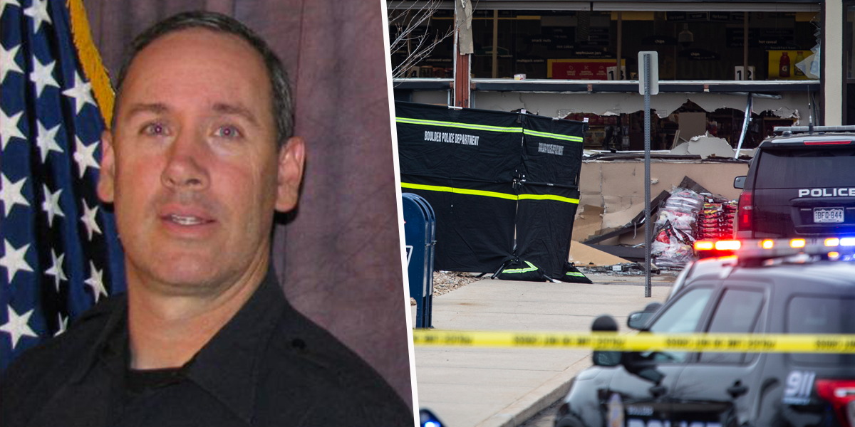 Officer Killed in Colorado Shooting Described as a 'Hero' as He Leaves Behind 7 Children