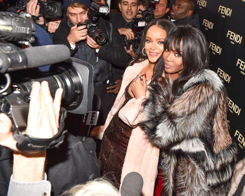 Hanging With Rihanna, Naomi, SJP, Karl & More at the Fendi Opening