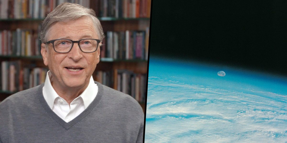 Bill Gates Wants To Spray Millions of Tons of Chalk Into the Stratosphere To Slow Global Warming