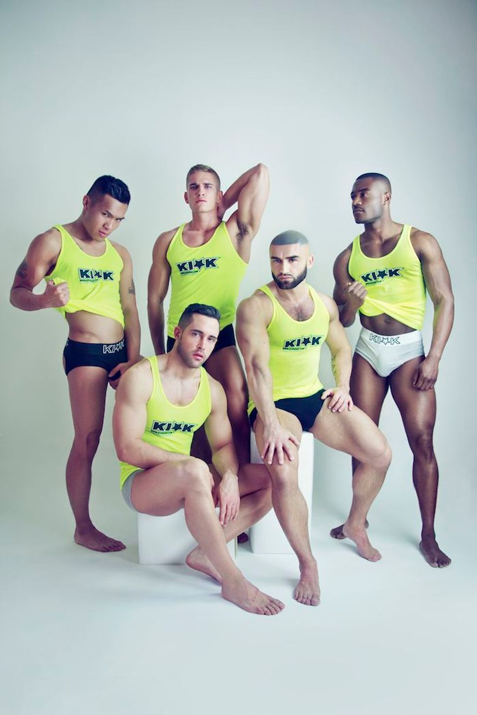 Former Porn Legend Francois Sagat On His New Clothing Line, Kick Sagat