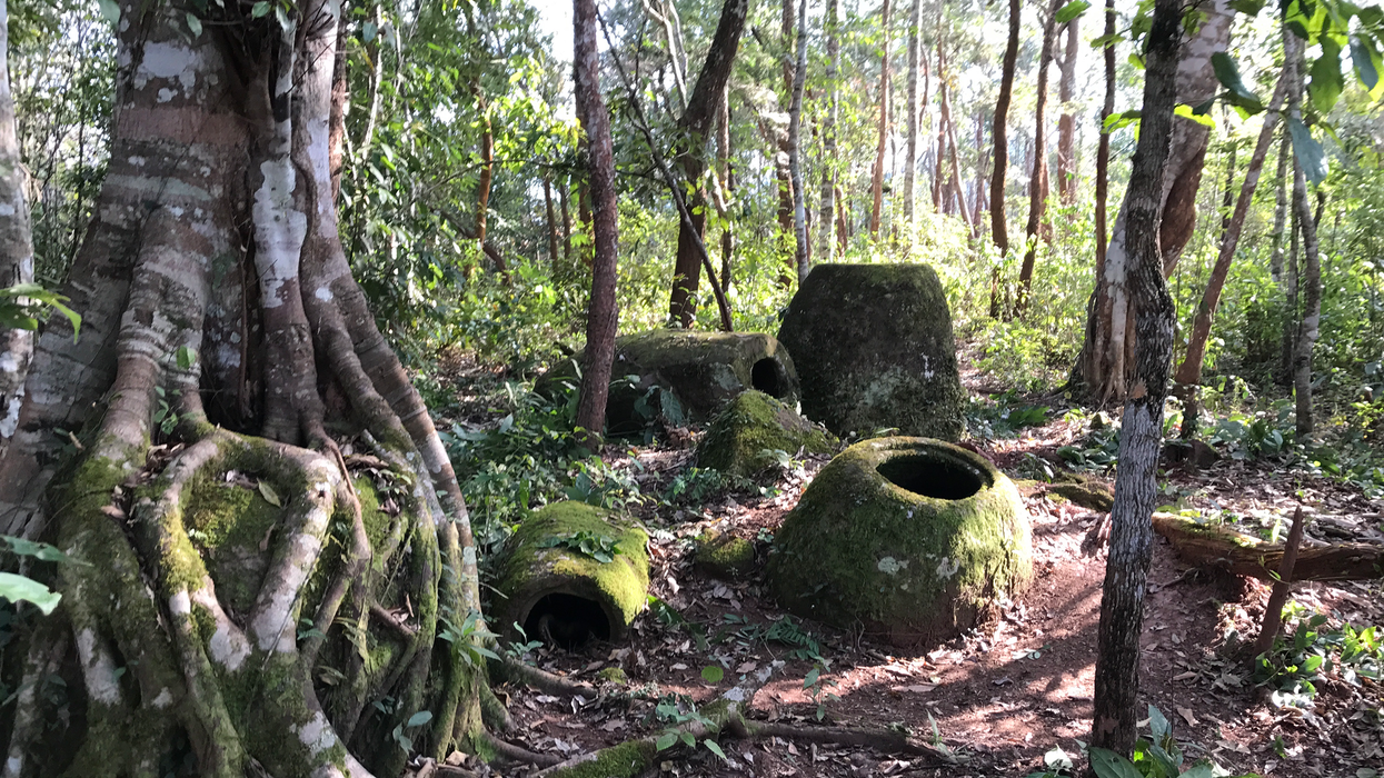 Mysterious  Plain of Jars  in Laos has been dated