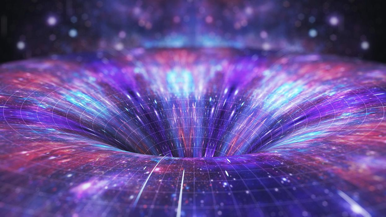 Can humans travel through wormholes in space?
