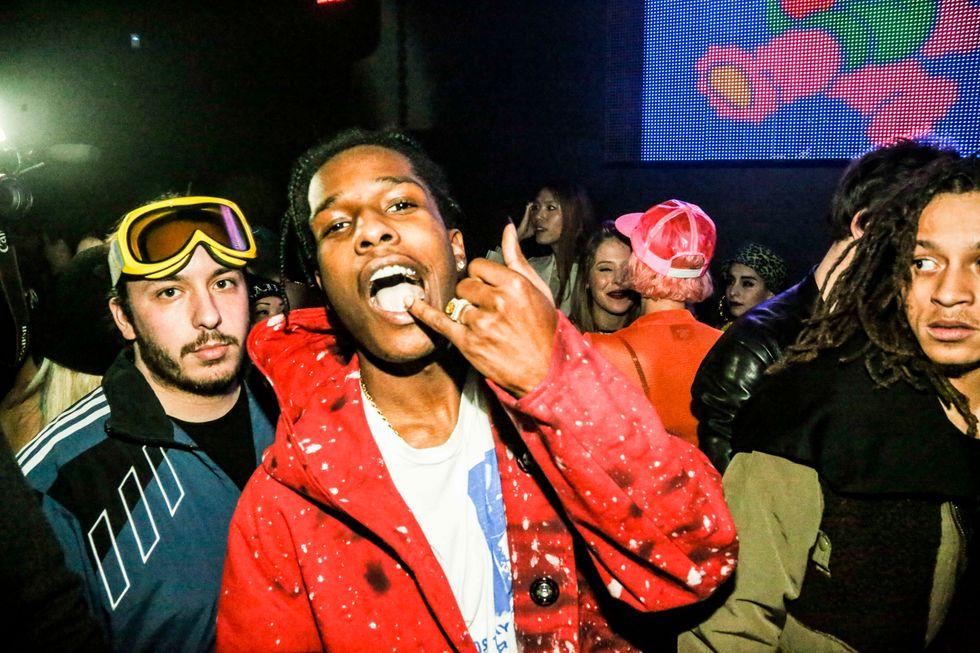 A$AP Rocky, OG Maco + More Party With Jeremy Scott