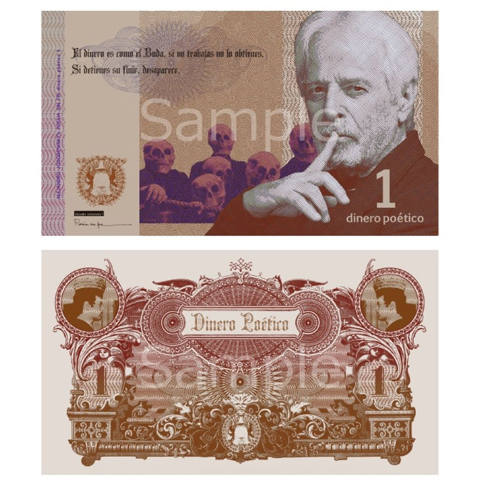 Give Alejandro Jodorowsky Real Money and He Will Give You Fake Money and a New Film