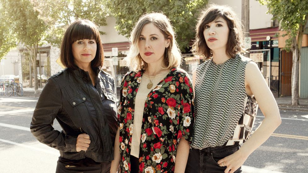 Watch a Sleater-Kinney Concert Live from the Comfort of Your Bed