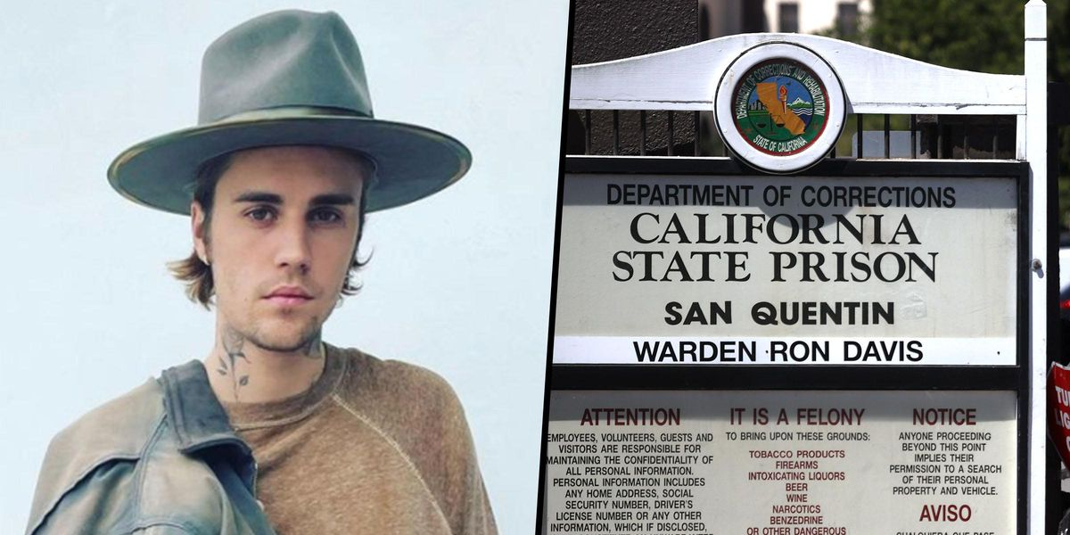 Justin Bieber Visits LA Prison To Spread the Word of God