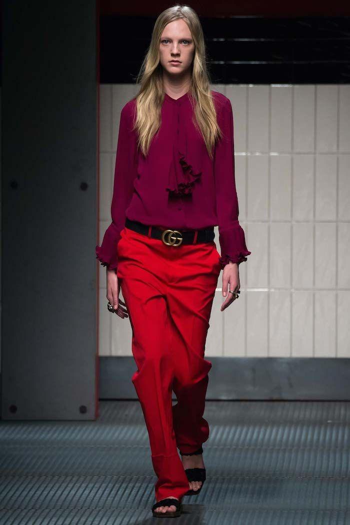e2c099cd8523 Alessandro Michele's Women's Debut at Gucci Was Magic. by Mickey Boardman