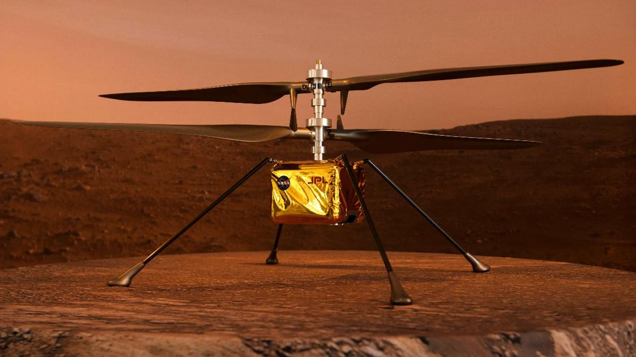NASA to Fly Mini Helicopter on Mars in April