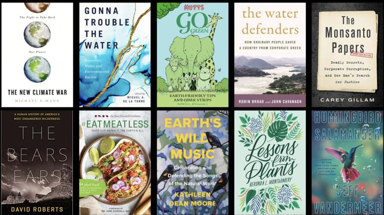 10 Environmental Books We're Reading This Spring