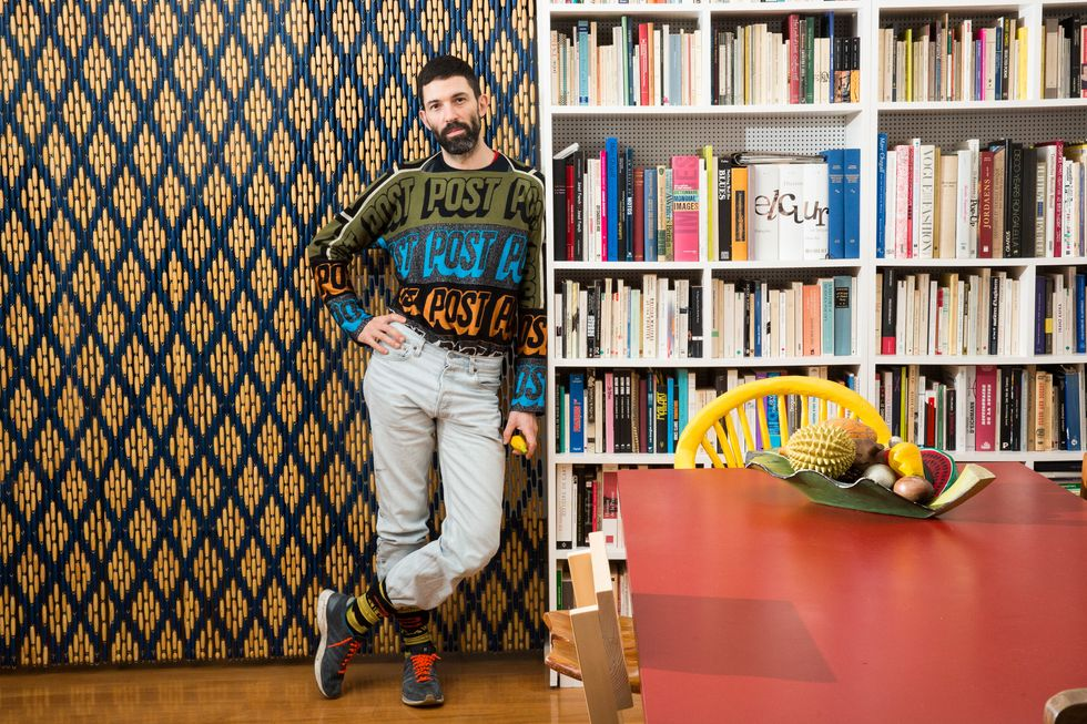 Inside the Home of One of Paris' Coolest Artists