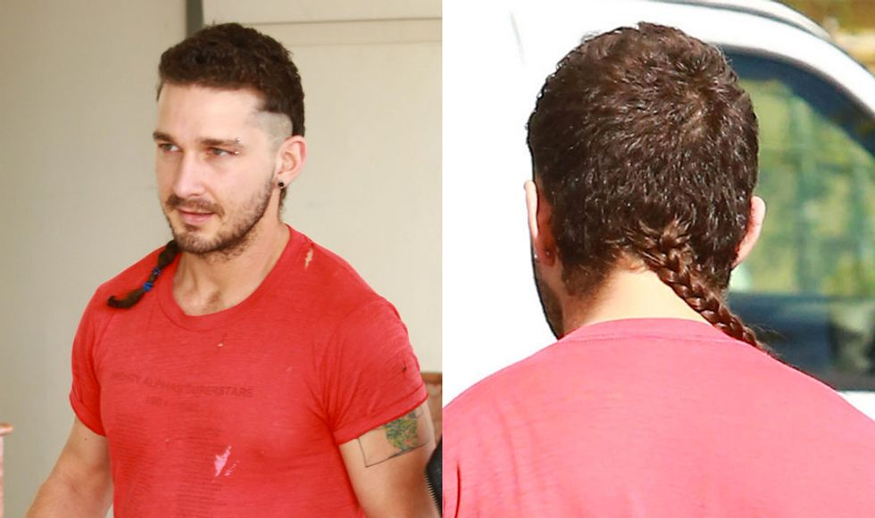Shia Watch 2015: Shia LaBeouf Debuts a New Look