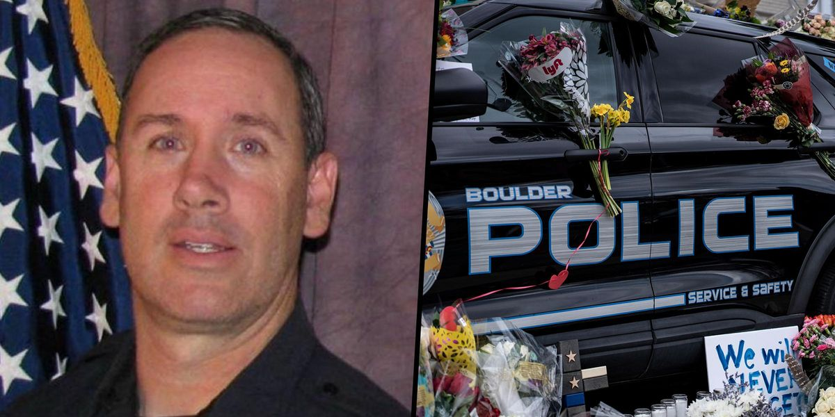 Woman Credits Police Officer Who Was Killed in Boulder Shooting With 'Saving Her Life' in 2013