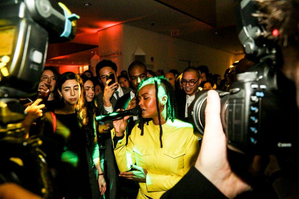 Scenes from the Armory Party, Presented by MoMA