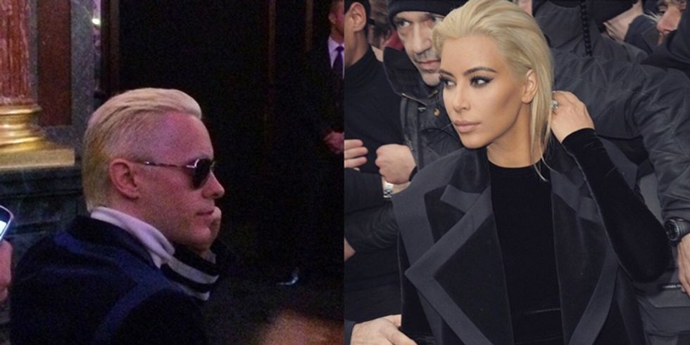 Kim Kardashian is Not Pleased With Jared Leto's Hair Transformation