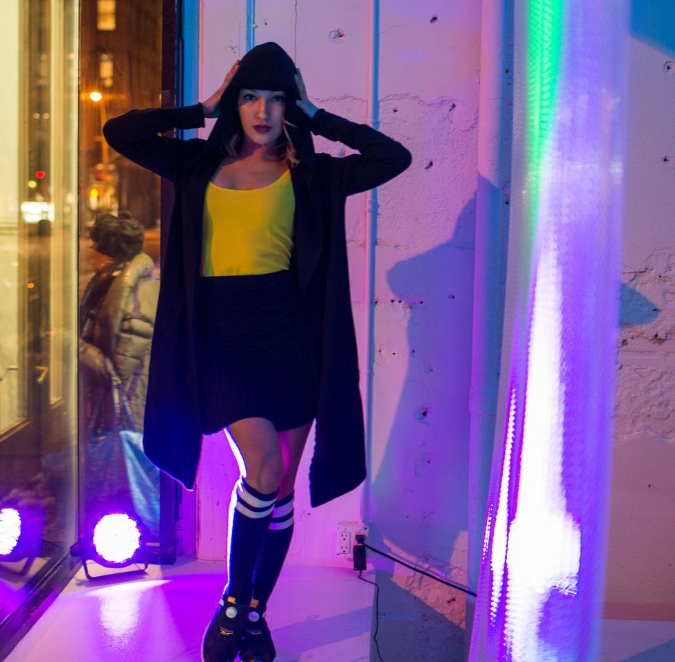 We Threw a '90s Party With Sandro and Reebok