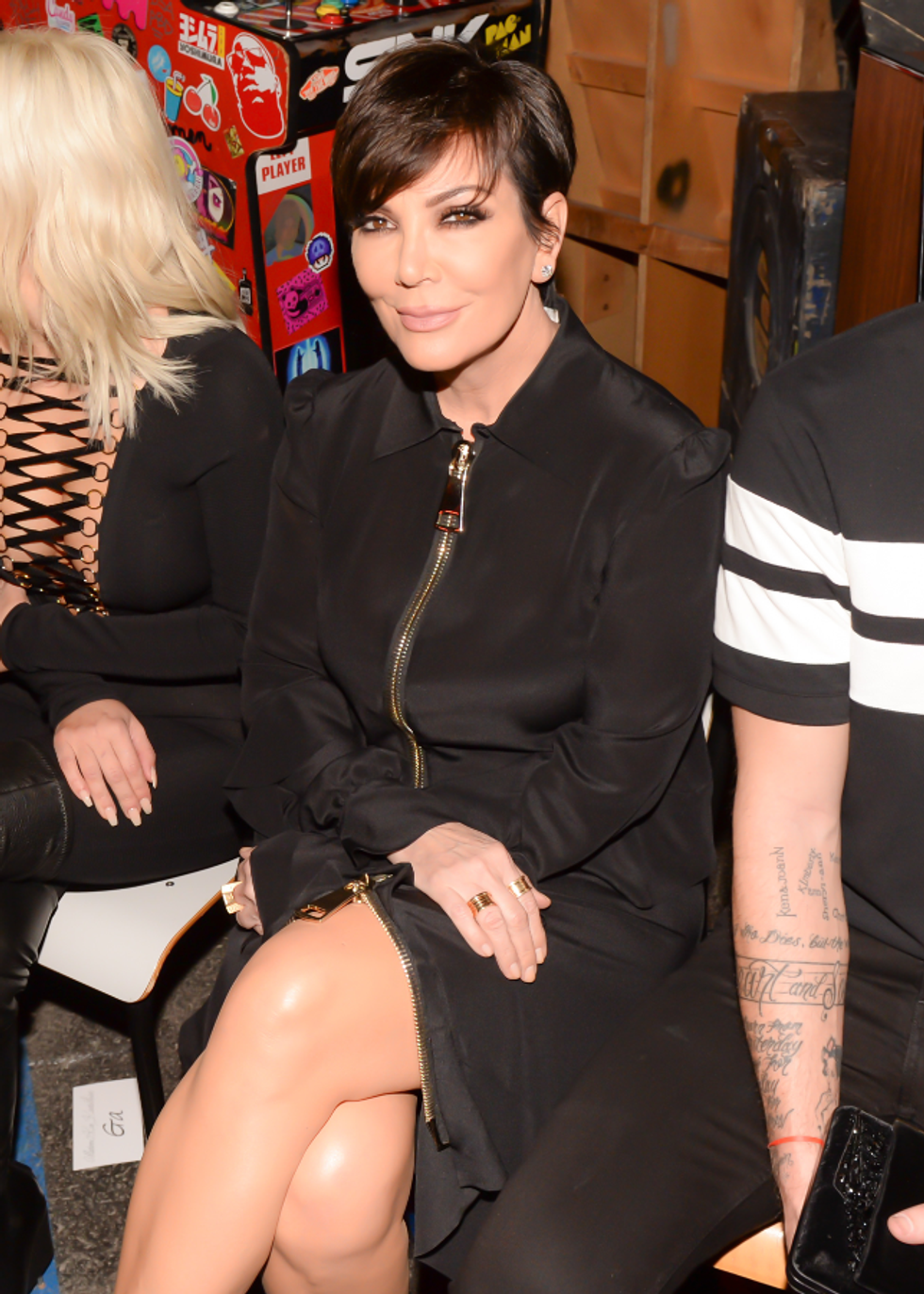 Kris Jenner's Paris Fashion Week Looks Are All Kim K-Approved