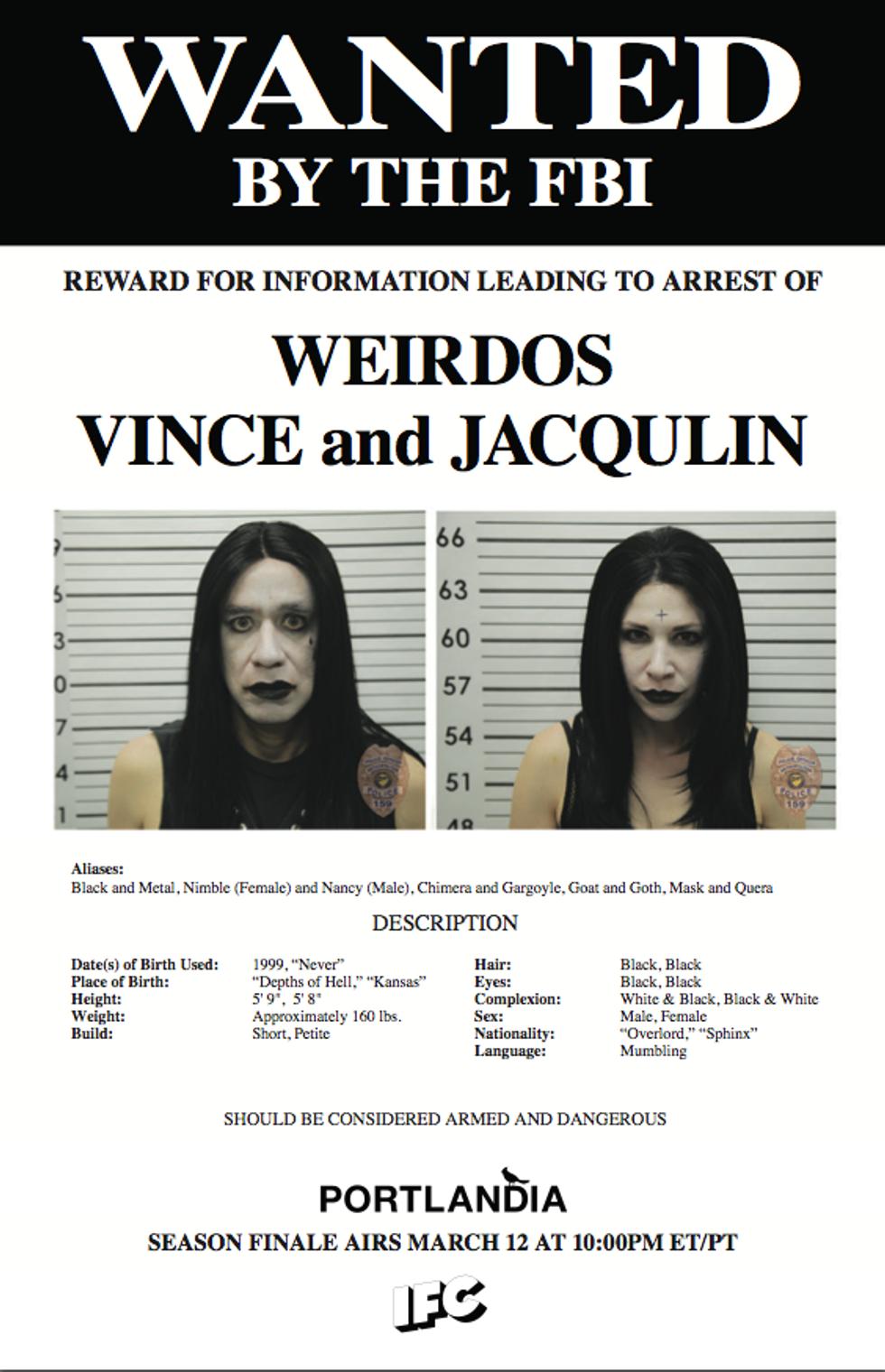 "Goth on Trial: Paul Ruebens Defends ""Chimera and Gargoyle"" in New Portlandia Clip"