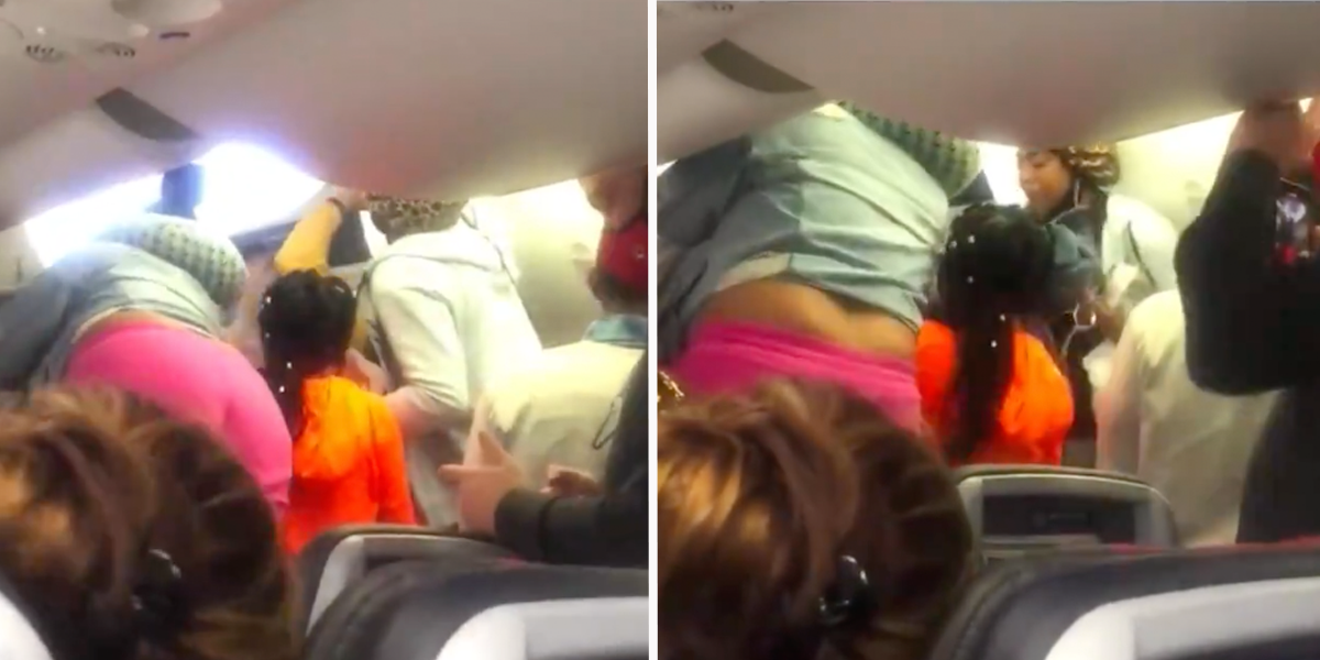 American Airlines Passengers Brawl Over Who Gets To Deplane First