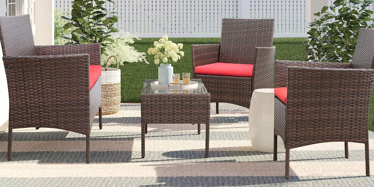 37 Best Amazon Outdoor Patio Furniture Items to Enjoy This Spring