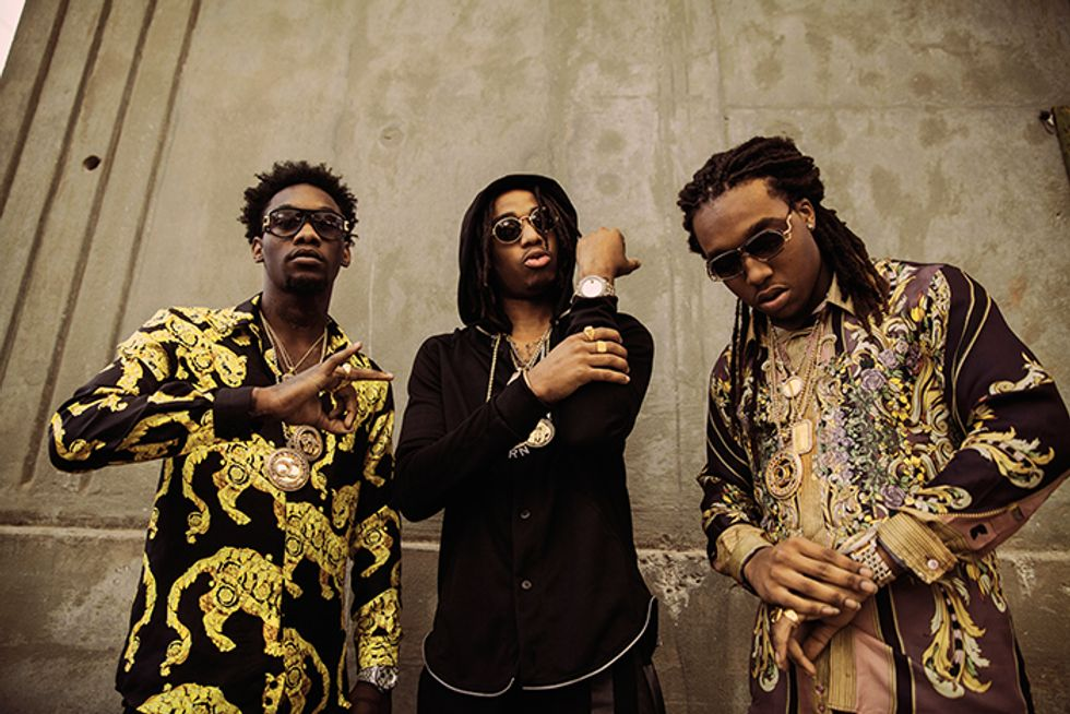 """""""Our Style Is Very Legendary"""": Migos Talk Versace, Chains and Their Cali-Grown Weed Strain"""