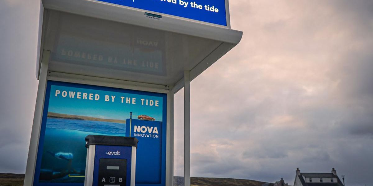 Electric Cars Powered by Tidal Energy Are Driving Scotland Toward Net Zero Emissions