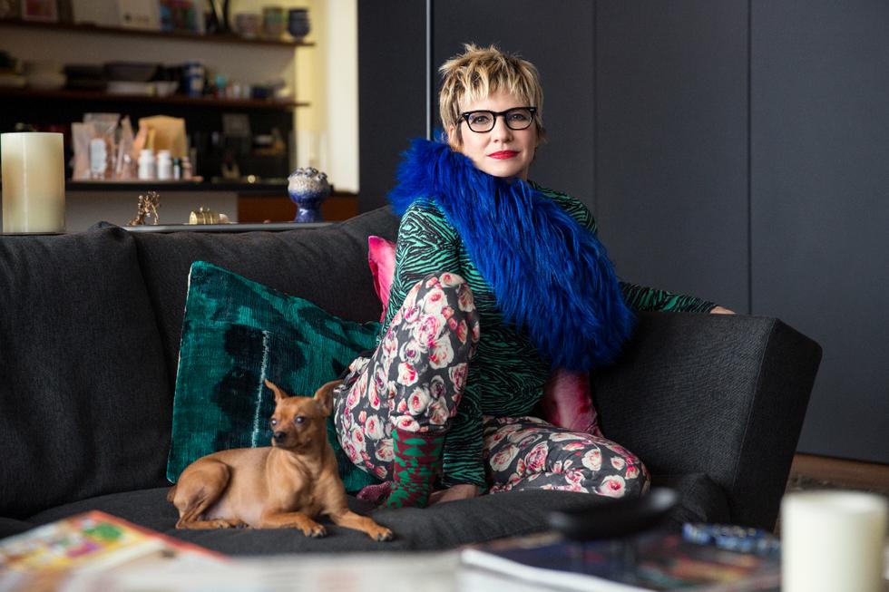Inside the Home of Legendary Stylist Lori Goldstein