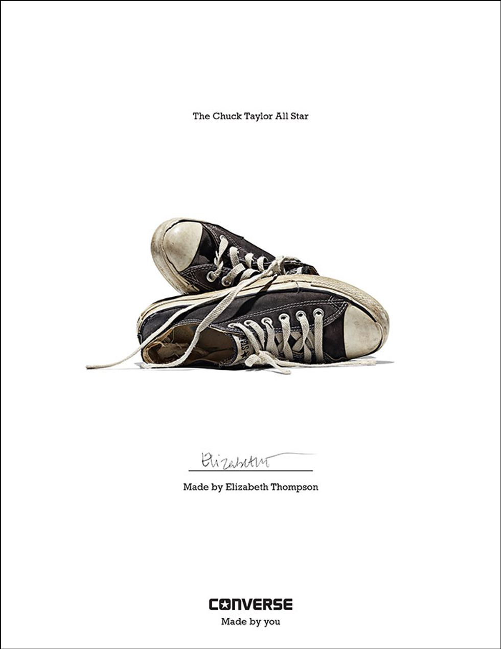 Patti Smith, Andy Warhol and PAPER Show Off Their Chucks