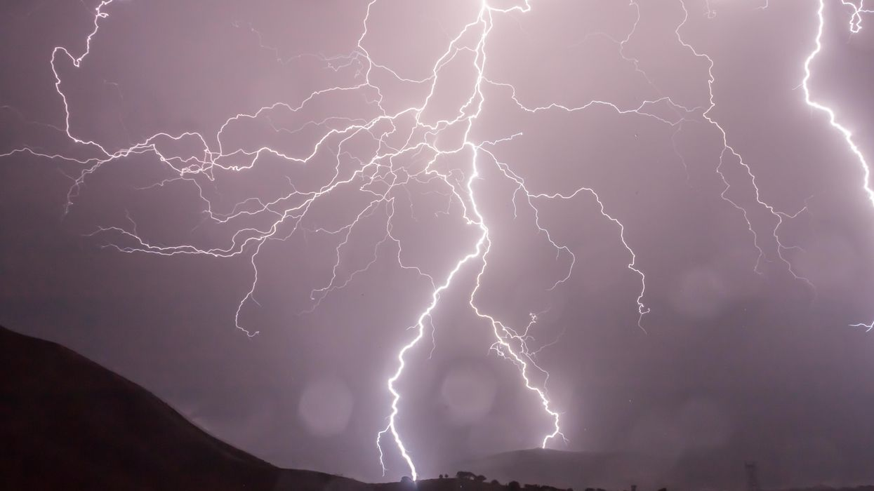 Lightning may have provided a key mineral for early life on Earth