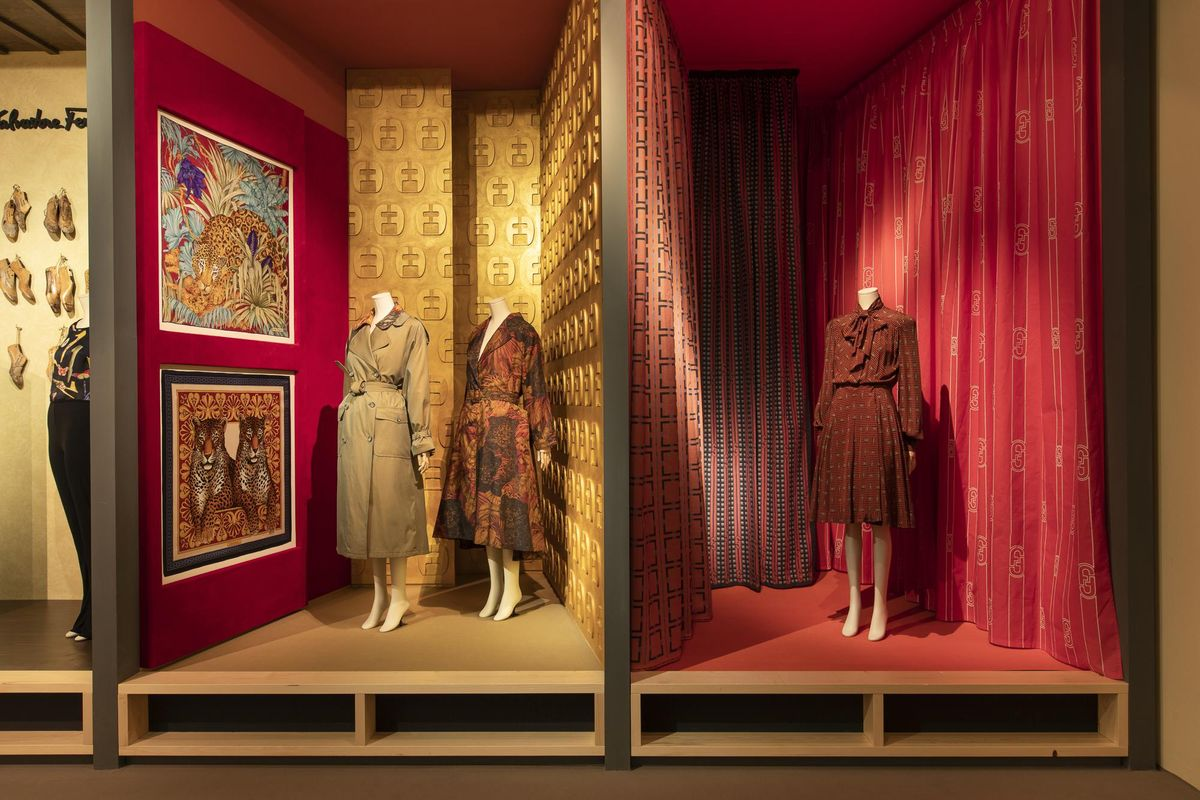 Take a Tour of Ferragamo's Rich Silk Archives