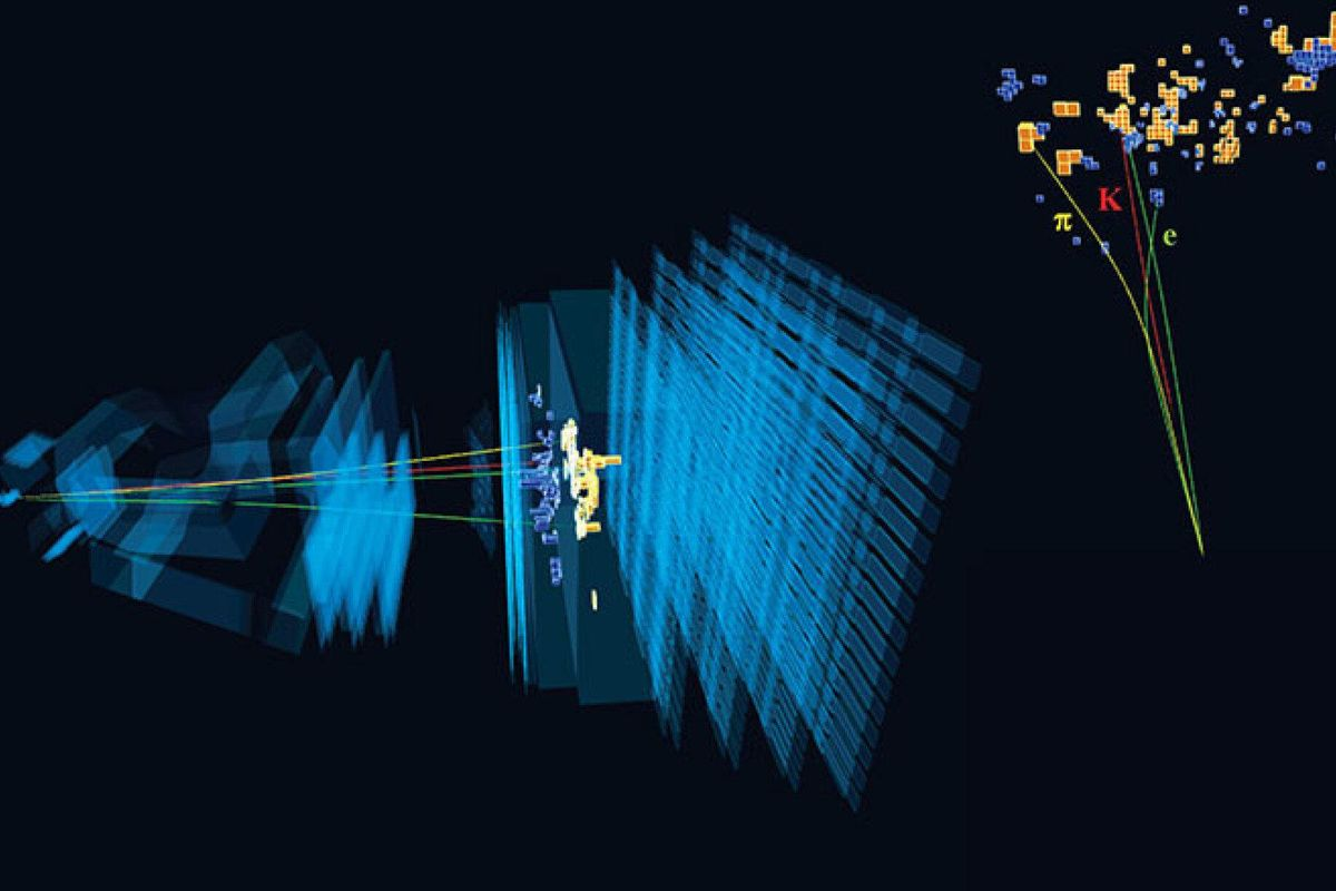 New particle experiment goes against standard physics