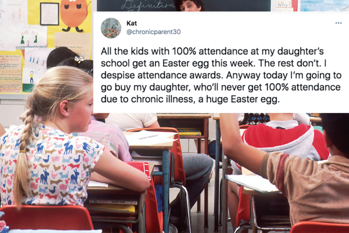 Mom's post about her chronically ill child is just one reason 'attendance awards' need to go
