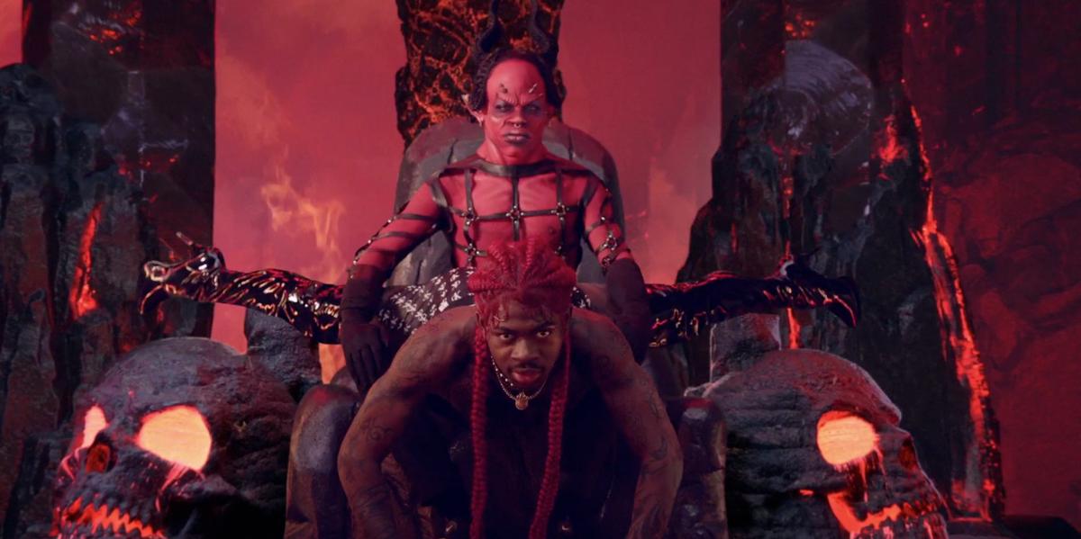 Watch Lil Nas X Give Satan a Lap Dance