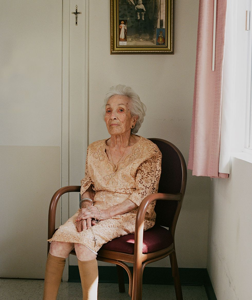 A look at Photographer Sally Peterson's Gorgeous Portraits of Centenarians