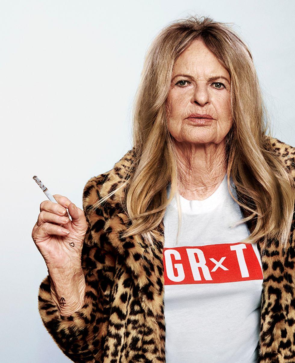 See Instagram Sensation Baddie Winkle Transformed Into Kate Moss and Kurt Cobain
