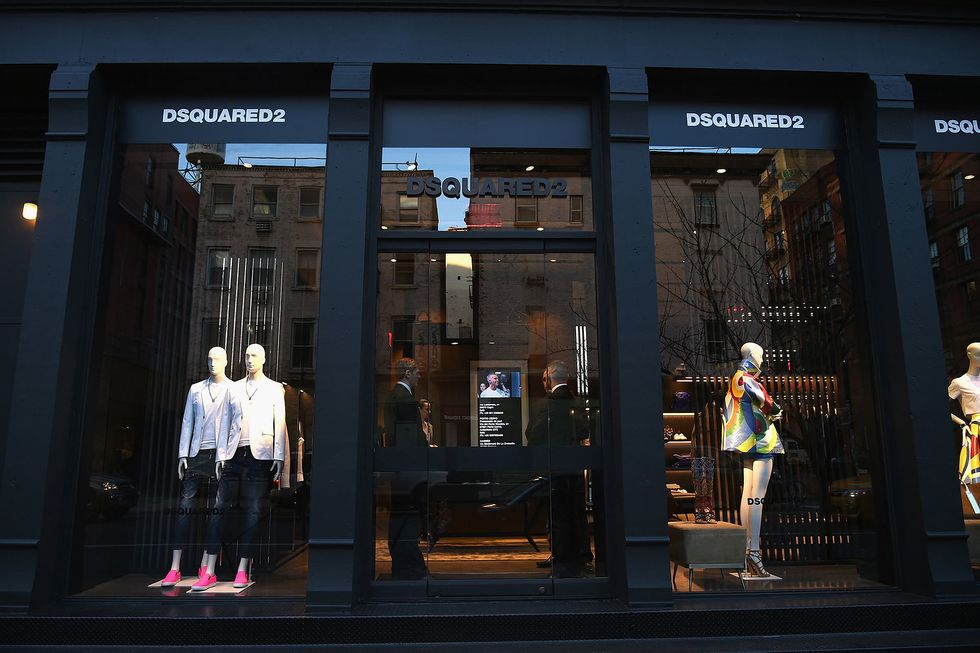 Dsquared Opens a New Flagship NYC Store With a Part-ay