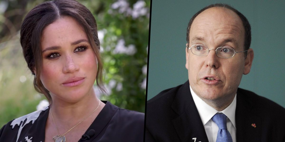 Prince Albert Calls Out Meghan Markle and Prince Harry For 'Wrong Time and Place' Oprah Interview