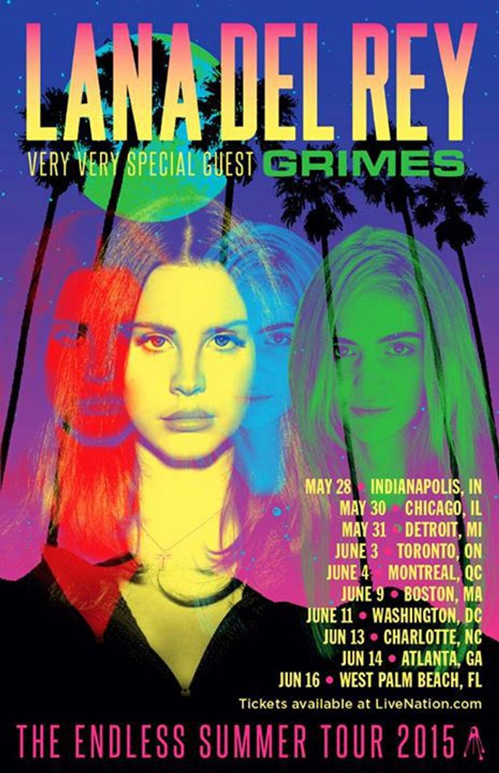 Lana Del Rey and Grimes Are Touring This Summer