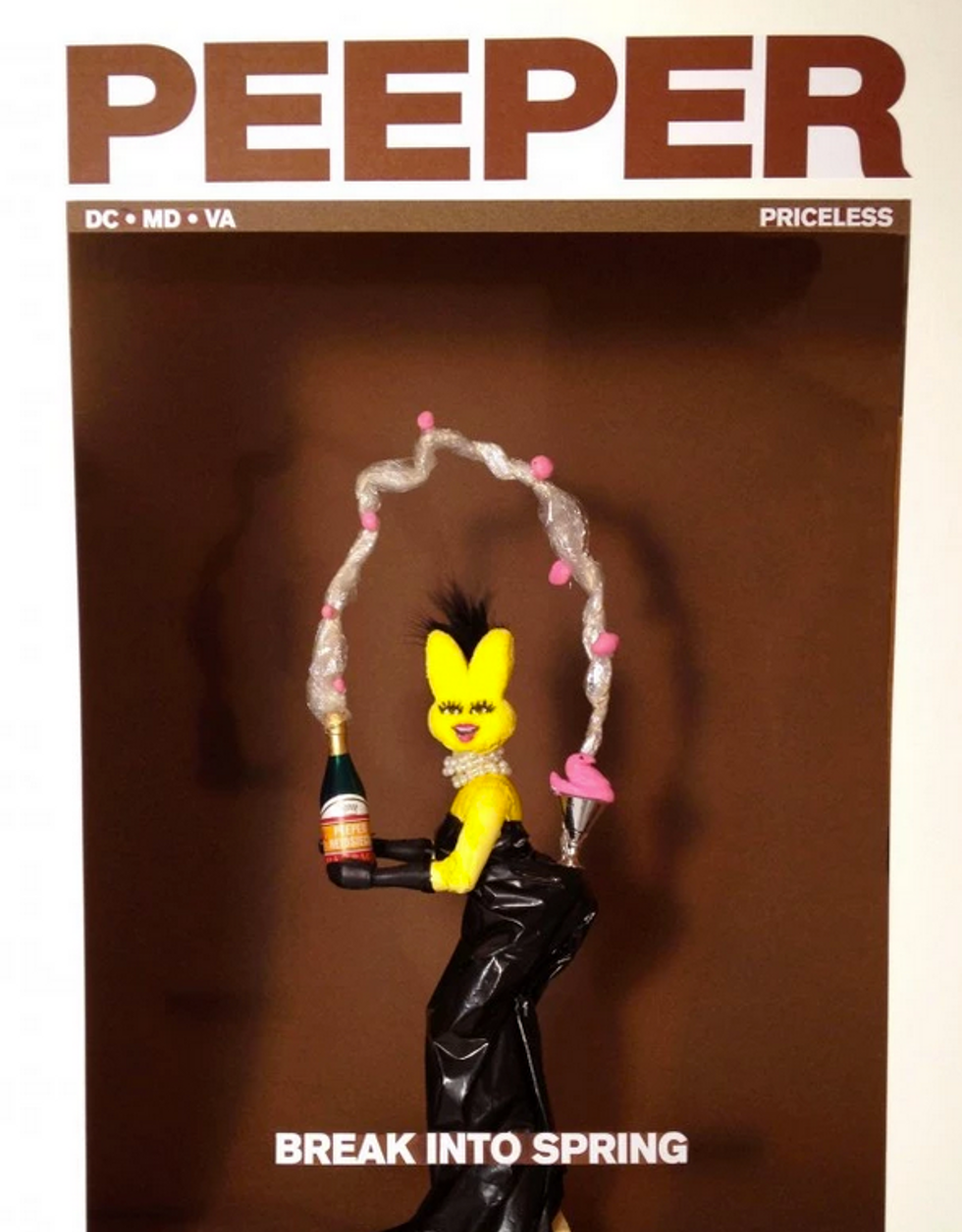Someone Made Our Kim K Cover Out of Peeps